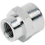 ICH 30107 Sleeve Adaptor G3/8 to G 1/2 60 bar Brass NP