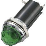 SCI 28430C997 R9-72B 19mm Round Filament Indicator 12V DC Green
