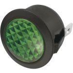 SCI 28430C1005 R9-92B 23mm Round Filament Indicator 12V Green
