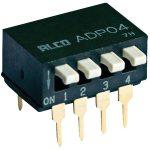 TE 1571999-1 ADP DIP Piano Switch Through Hole Gold 2P Black