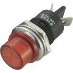 SCI R9-124LB1-01-BRR4 LED Indicator Light Red 12V DC