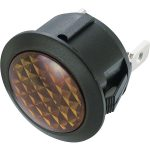 SCI 28430C932 R9-92N 23mm Round Neon Indicator 230V AC Yellow