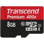 Transcend TS8GUSDCU1 microSDXC/SDHC Class 10 UHS-I 400x (Premium) 8GB