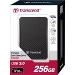 Transcend TS256GESD400K Portable SSD Hard Drive USB 3.0 256GB