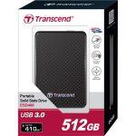 Transcend TS512GESD400K Portable SSD Hard Drive USB 3.0 512GB