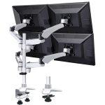 Xergo Flex 360 degree Rotating Quadruple Monitor Bracket 10″ to 27″ 45kg…