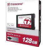 Transcend TS128GSSD370 SATA III 6Gb/s SSD370 2.5″ SSD Drive 128GB