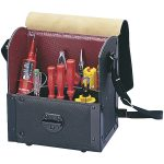 Parat 30.000.581 Top-Line Tool Case With Middle Wall 220 x 140 x 250mm