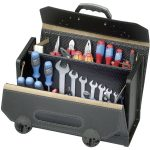 Parat 16.000.571 Top-Line Tool Case With Middle Wall 420 x 185 x 315mm
