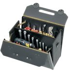 Parat 17.000.581 Top-Line Tool Case With Middle Wall 460 x 210 x 340mm