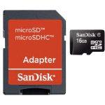 SanDisk SDSDQB-016G-B35 microSDHC Memory Card 16GB – Inc Adaptor