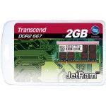 Transcend JM667QSU-2G JetRam 2GB JM DDR2 667 SO-DIMM 2Rx8 RAM