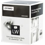 DYMO S0904980 XL Shipping Labels 104 x 159mm Permanent Roll of 220
