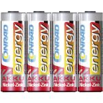 Conrad Energy Rechargeable AA Battery (x4 ) NiZn 1.6V