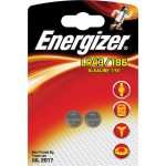 Energizer 639319 Size LR43 Alkaline Button Battery (Pack of 2)