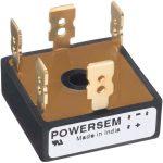 POWERSEM PSB 36T-14 Single Phase Bridge Rectifier 1400V 30A FASTON…