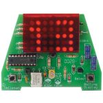 Velleman MK123 LED Clock Kit (Rolling Time)