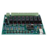 Velleman K8090 8-Channel USB Relay Card Electronics Kit
