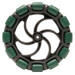 VEX 100mm (4 inch) Omni-Directional Wheel (Pack of 2)