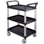 RVFM 3 Shelf Lightweight Lab Trolley