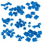 VEX IQ Corner Connector Base Pack (Blue)