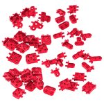 VEX IQ Corner Connector Foundation Add-on Pack (Red)