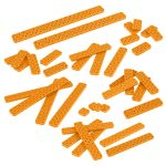 VEX IQ 2x Beam Base Pack (Orange)
