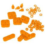 VEX IQ Basic Motion Accessory Pack (Orange)
