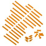 VEX IQ Plastic Shaft Base Pack (Orange)