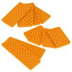 VEX IQ 4x Plate Foundation Add-on Pack (Orange)
