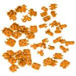 VEX IQ Corner Connector Foundation Add-on Pack (Orange)