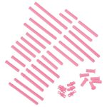 VEX IQ Plastic Shaft Base Pack (Pink)