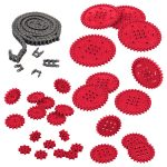 VEX IQ Chain and Sprocket Kit (Red)