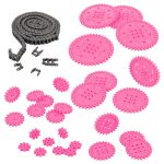 VEX IQ Chain and Sprocket Kit (Pink)