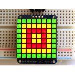 Adafruit 902 1.2″ 8×8 Square LED Matrix with I2C Backpack Bi-colou…