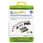 Seeed 110060161 GrovePi+ Starter Kit for Raspberry Pi B+, 2, and 3