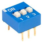 ECE EDG103S Excel 3 Pole 6 Pin DIL Switch