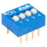 ECE EDG104S Excel 4 Pole 8 Pin DIL Switch