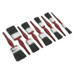Sealey SPBS9 Pure Bristle Paint Brush Set 9pc
