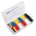 Sealey HST50MC Heat Shrink Tubing Assortment 190pc 50mm Mixed Colours