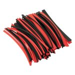 Sealey HST200BR Heat Shrink Tubing Black and Red 200mm 100pc