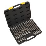Siegen S01077 Hex Socket Bit Set 30pc 1/2″Sq Drive