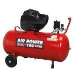 Sealey SAC10030F Compressor 100ltr V-Twin Belt Drive 3hp Oil Free