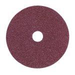 Sealey FBD11550 Sanding Disc Fibre Backed diameter 115mm 50Grit Pack of 25