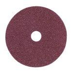 Sealey FBD10036 Sanding Disc Fibre Backed diameter 100mm 36Grit Pack of 25