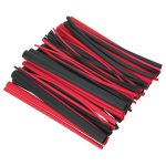 Sealey HSTAL72BR Heat Shrink Tubing 72pc Black and Red Adhesive Line…