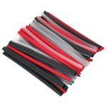 Sealey HSTAL72MC Heat Shrink Tubing 72pc Mixed Colours Adhesive Li…