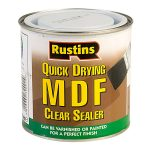 Rustins MDFS250 Quick Drying MDF Sealer Clear 250ml