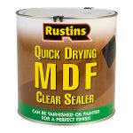 Rustins MDFS2500 Quick Drying MDF Sealer Clear 2.5 Litre
