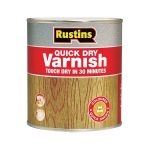 Rustins AVGC250 Quick Dry Varnish Gloss Clear 250ml